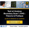 Webinars est et Analyse Boundary Scan / JTAG 2021 - ISIT