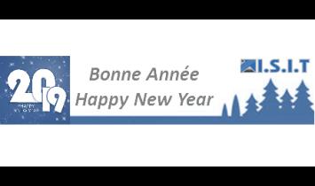 Bonne Année 2019 - ISIT