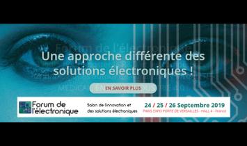 Forum de l'Electronique - Septembre 2019 - Paris - ISIT