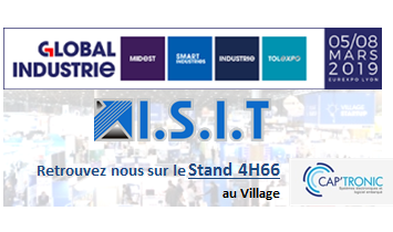 Global Industrie Lyon Mars 2019 - ISIT