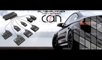 SMH intègre un module CAN dans son FlashRunner - ISIT