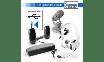 SEGGER ajoute de l'audio à sa pile USB emUSB-Host - ISIT