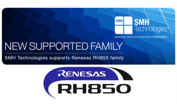 SMH Technologies supports Renesas RH850 family_ISIT