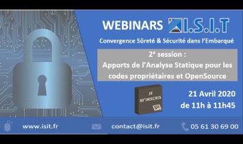 Webinar ISIT - Session#2 - 21 Avril 2020