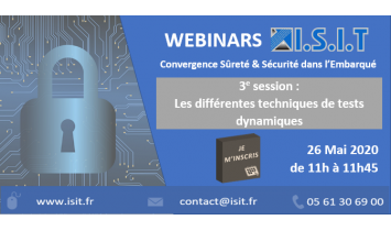 Webinar ISIT - Session#3 - 26 Mai 2020