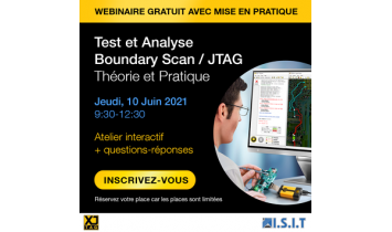 Webinar Test et Analyse Boundary Scan / JTAG - 10/06/2021 - ISIT