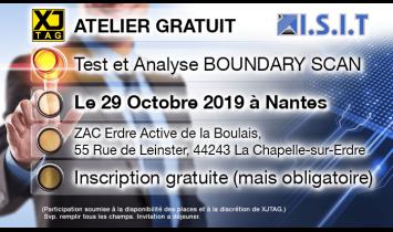 Workshop XJTAG - Nantes -Octobre 2019 - ISIT