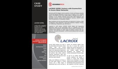Case Study LACROIX SOFREL - GrammaTech