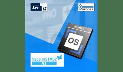 SEGGER's RTOS embOS - MadeForSTM32 v2