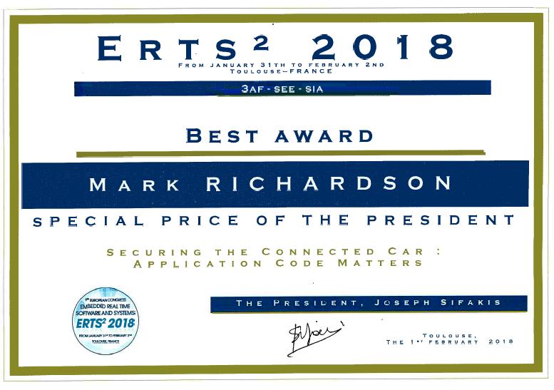Prix_Mark_LDRA_ERTS2018