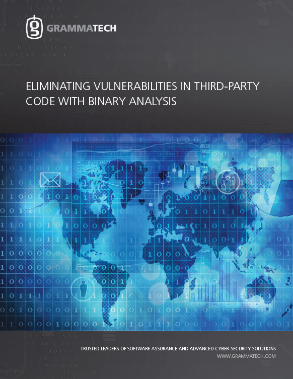 WP_Eliminating Vulnerabilities in Third-Party Code with Binary Analysis_GrammaTech_ISIT