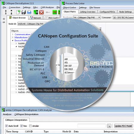 CANopenConfigurationSuite-SYSTEC